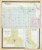 Wilton, Alma City, Smith's Mills, Waseca County 1896